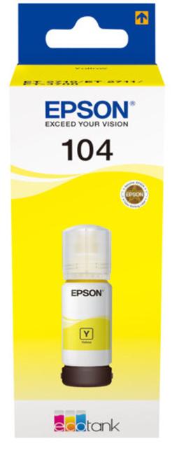 EPSON reservoir encre 104 jaune