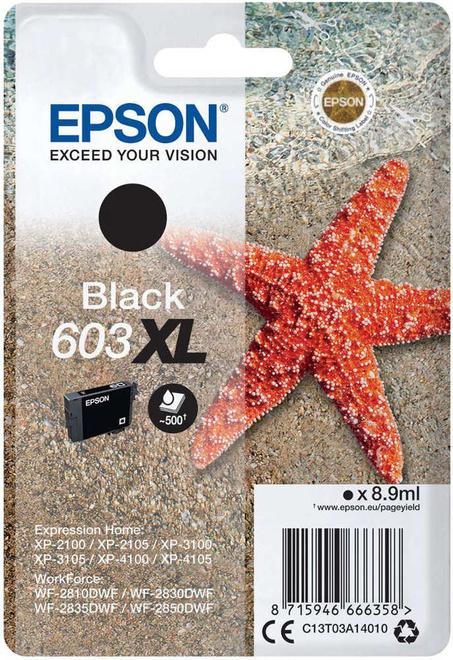 EPSON cart noire XL etoile de mer