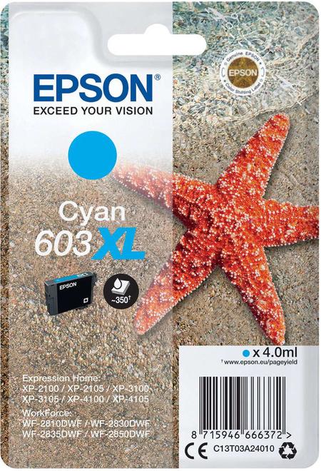EPSON cart bleu XL etoile de mer
