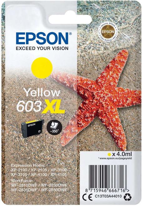 EPSON cart jaune XL etoile de mer