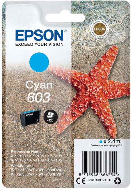 EPSON cart bleu etoile de mer