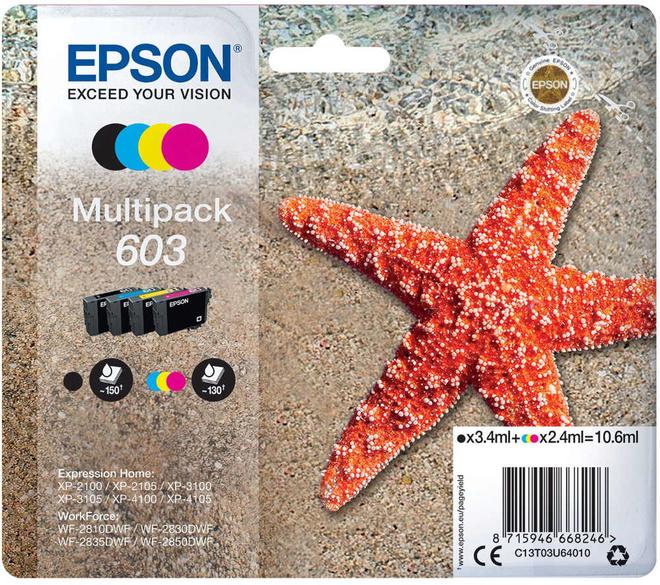 EPSON PACK 4 CART ETOILE DE MER