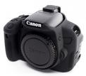 EASYCOVER Coque silicone Canon 650D/700D Noir