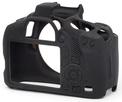 EASYCOVER Coque silicone Canon 1300 D Noir