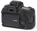 EASYCOVER Coque silicone Canon 80D Noir
