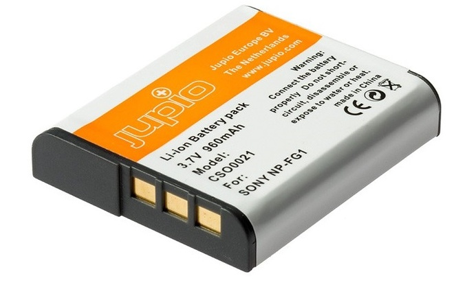 JUPIO BATTERIE COMPATIBLE SONY NP-FG1