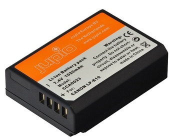 JUPIO BATTERIE COMPATIBLE CANON LP-E10
