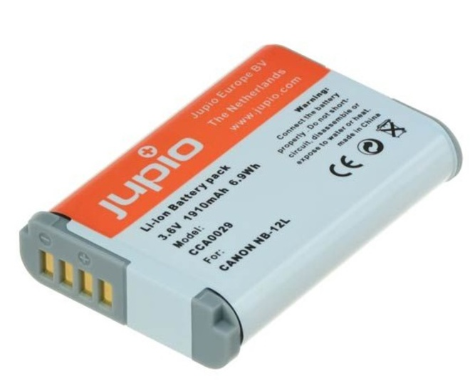 JUPIO BATTERIE COMPATIBLE CANON NB-12L