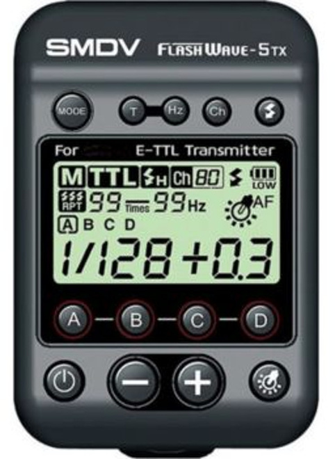 SMDV Emetteur Flashewave 5 TX CANON.