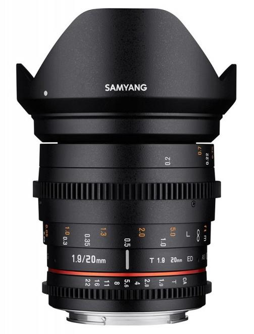 SAMYANG 20/T1.9 VDSLR Sony E