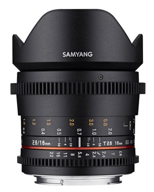 SAMYANG 16/T2.6 VDSLR Sony E
