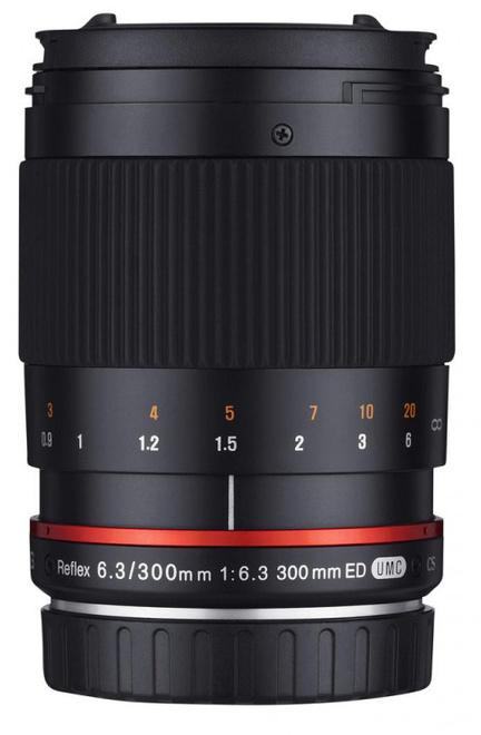 SAMYANG 300/6.3 ED UMC CS Fuji X Noir