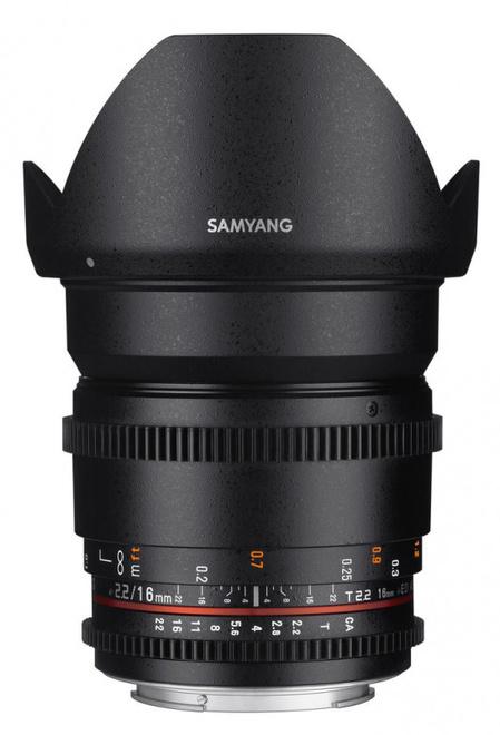 SAMYANG 16/T2.2 VDSLR II Canon
