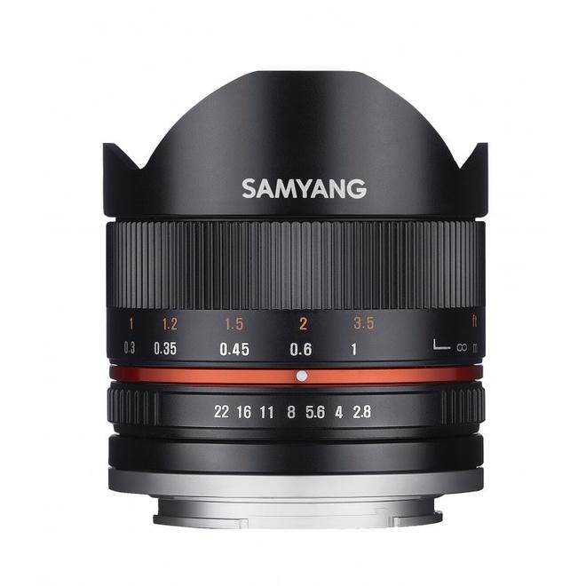 SAMYANG 8/2.8 UMC Fisheye II Sony E