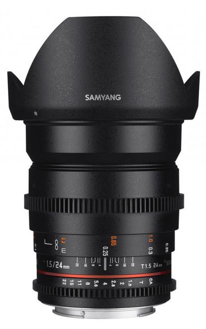 SAMYANG 24/T1.5 VDSLR II Nikon