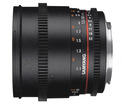SAMYANG 85/T1.5 VDSLR II Canon