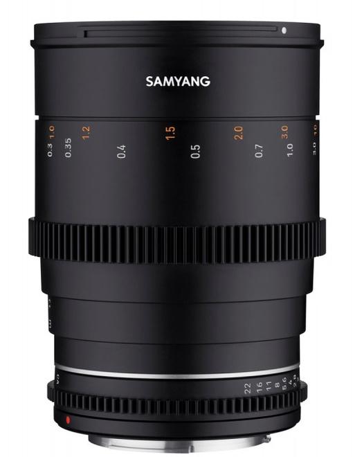 SAMYANG 35/T1.5 VDSLR MK 2 MICRO 4/3