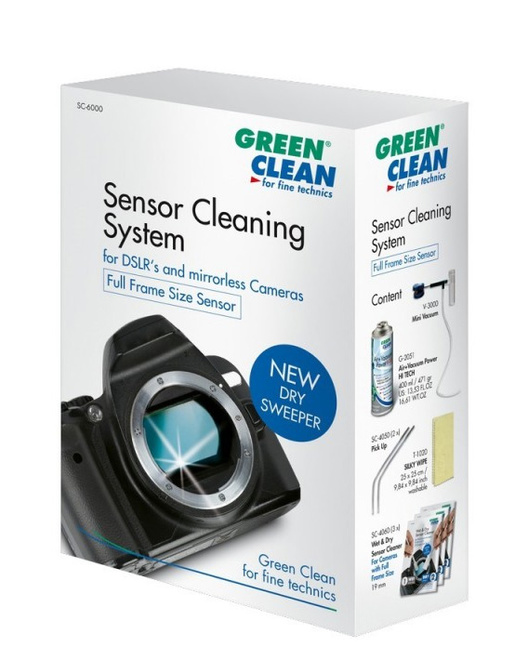 GREEN CLEAN Kit nettoyage mini vacuum Full Frame