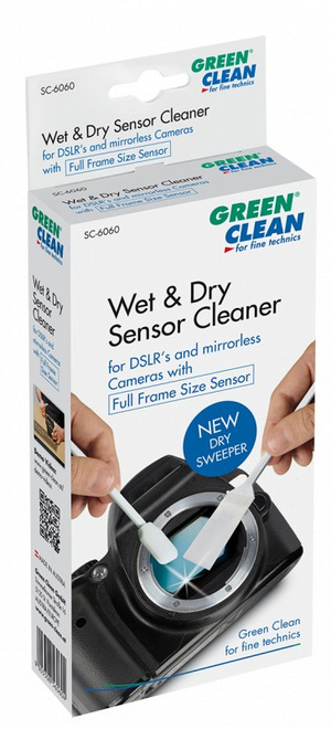 GREEN CLEAN WET DRY JEU DE 4X2 BATONNETS 19 MM