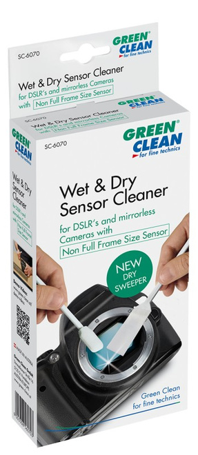 GREEN CLEAN Wet Dry SWAB Non full Frame 4Pces