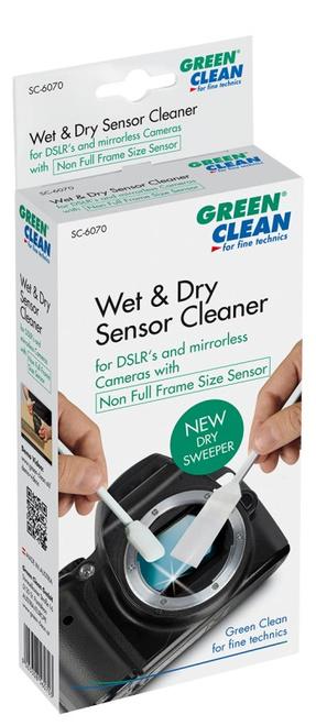GREEN CLEAN WET DRY SWAB NON FULL FRAME 4 SACHETS