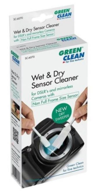 GREEN CLEAN WET DRY SWAB NON FULL FRAME 25 PCS