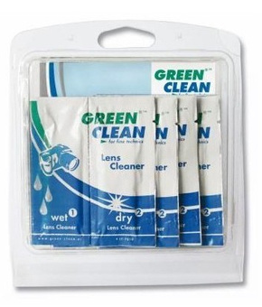 GREEN CLEAN WET DRY KIT DE 10 LINGETTES NETTOYANTES