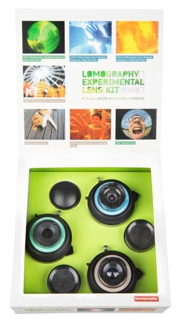 LOMOGRAPHY kit optique experimental micro 4/3.
