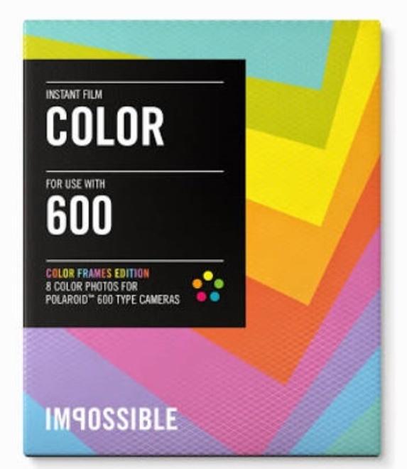 IMPOSSIBLE film 600 color frames.