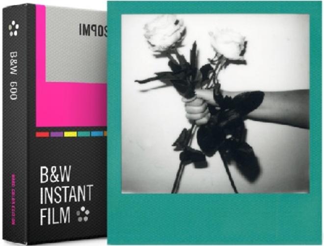 IMPOSSIBLE film 600 b/w hard color frames.