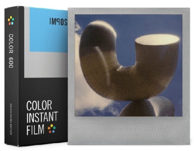 IMPOSSIBLE film 600 color silver frame.