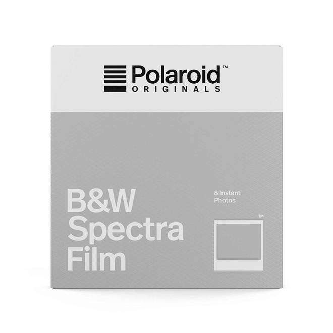 POLAROID POLAROID FILM SPECTRA NOIR ET BLANC