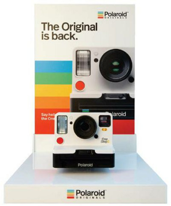 POLAROID Polaroid L Shape Camera display