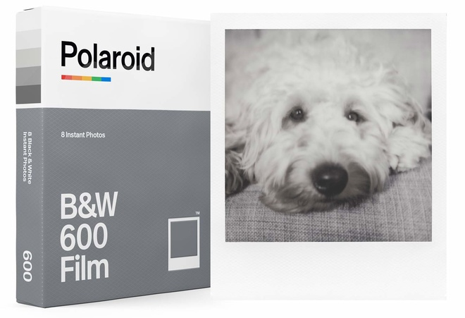 POLAROID POLAROID FILM FOR 600 NOIR/BLANC