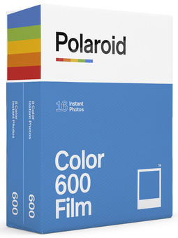 POLAROID DOUBLE PACK COULEUR 600 - 16 POSES
