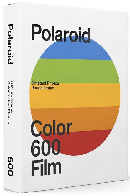 POLAROID POLAROID FILM COULEUR 600 ROUND FRAME