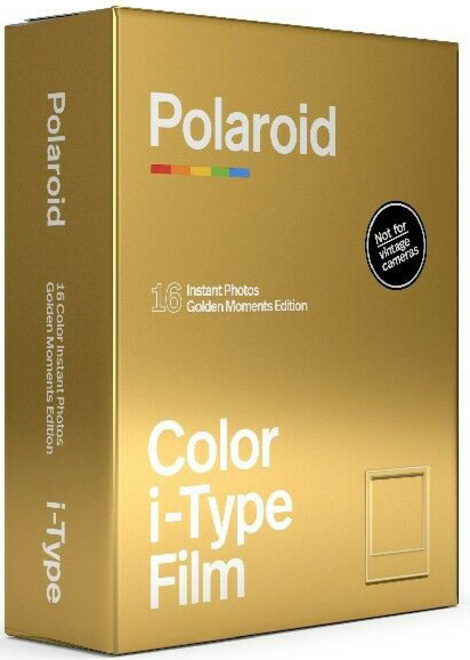 POLAROID POLAROID FILM ITYPE COLOR GOLD MOMENTS